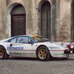 Sugen på att köra rally med en Ferrari