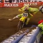 VIDEO: Travis Pastrana vs Ricky Carmichael Supercross 2002